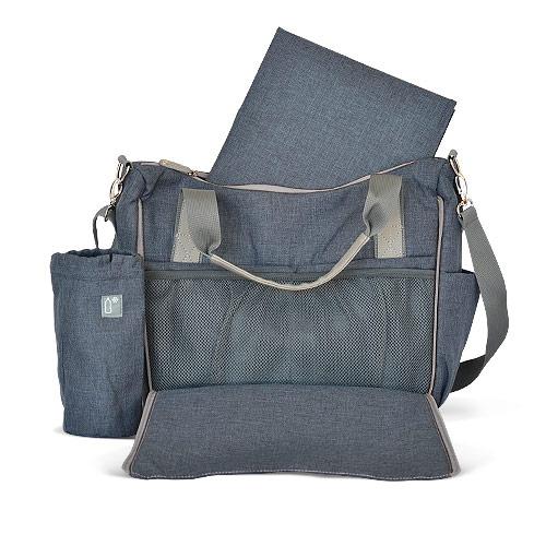 Carestino productos para mam bolsos cartera bolso maternal azul - Bolso con luz interior ...