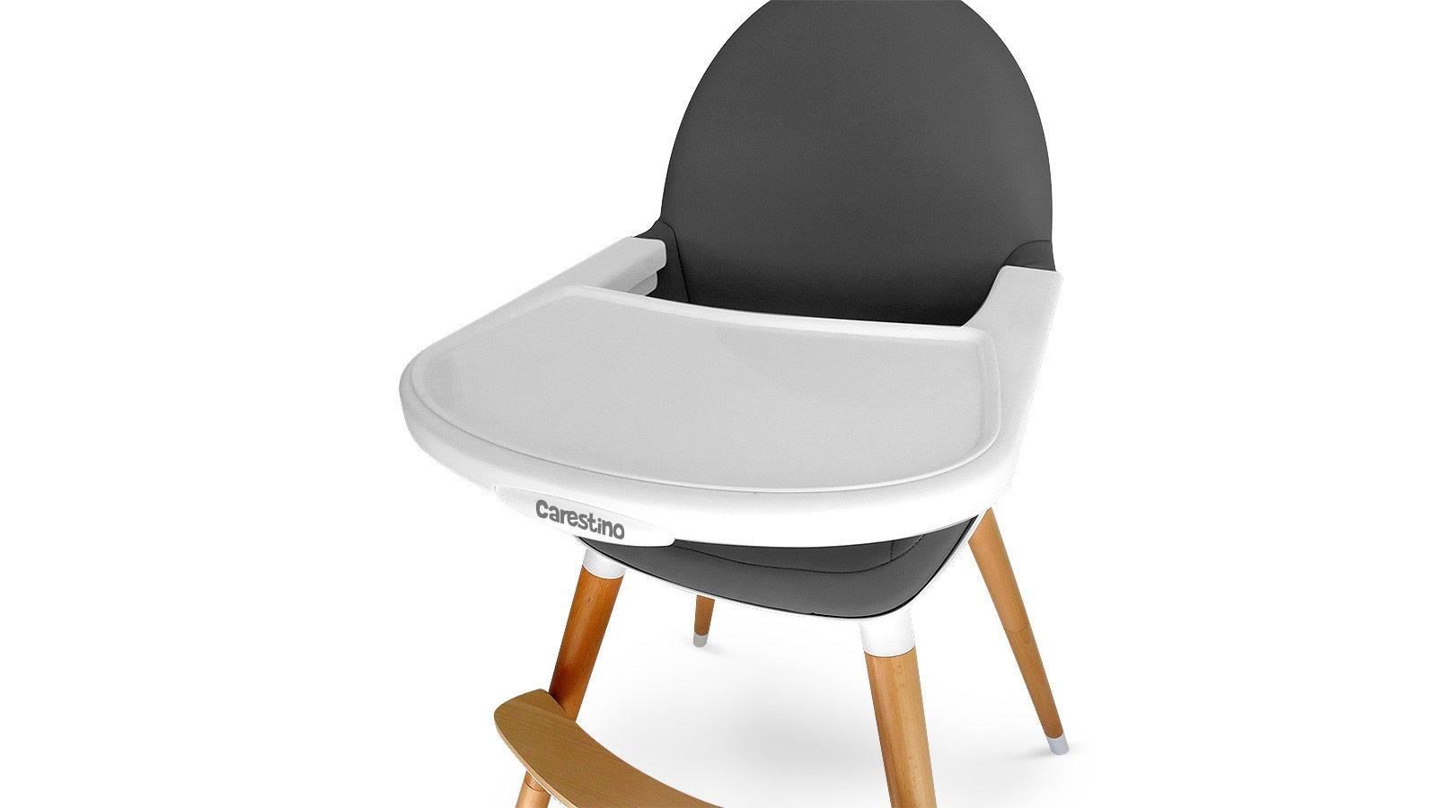Carestino productos sillas de comer sillas de comer for Sillas en gris